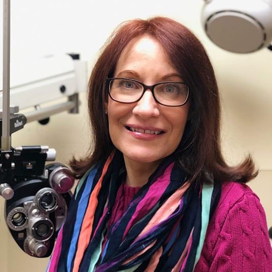 April Optometris in Larkfield Optical
