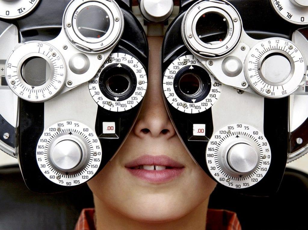 Eye and vision exam